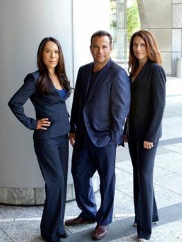 Alicia Olivares, Lee Feldman, and Gina Browne