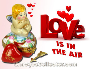 Love Is In the Air With Valentine's Day French Limoges Box Gifts At LimogesCollector.com