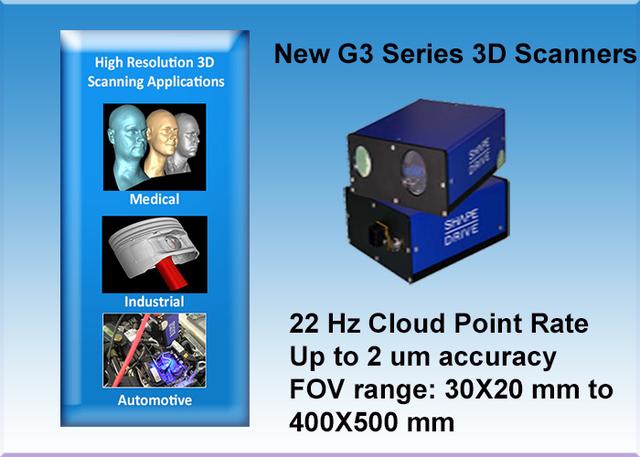 G3 Series 3D Sensors