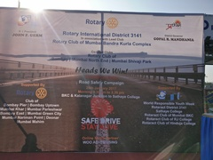Stage set at Road Safety Rally
