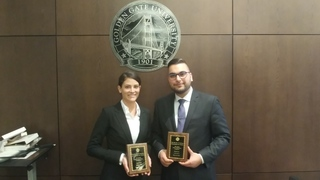 Thomas Jefferson School of Law Students Place Third in California Bar Environmental Negotiation Competition