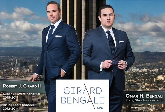 Robert J. Girard II and Omar Bengali, Super Lawyers