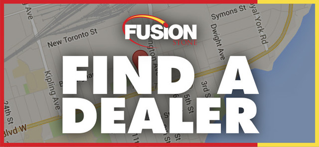 Fusion Stone says it has more than 1,500 Fusion Stone dealers across Canada and it has lots of options.