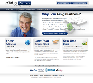 AmigaFX launches its Affiliate Program - AmigaPartners.com