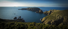 The Island of Brecqhou is a short boat ride from Sark