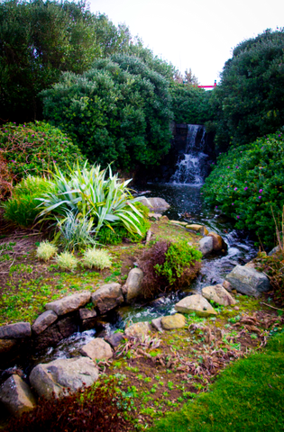 Secret gardens, vineyards, waterfalls, fountains and lakes - you'll discover it all in beautiful Brecqhou
