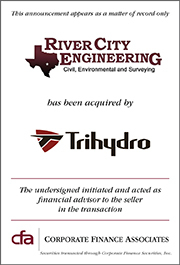 River City Engineering Acquired By Trihydro Corporation