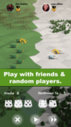 The game, called Attack Your Friends!, immerses players in intense, two-player battles where players are competing to dominate the world map.