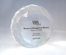 Crystal speaker award, Stanford Graduate School of Business