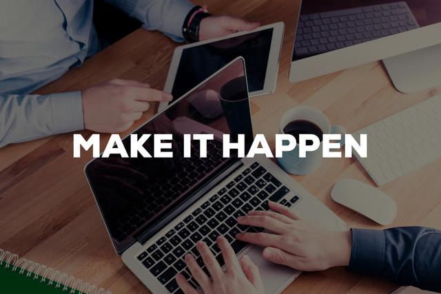 Make it happen - don't let your strategy fail.