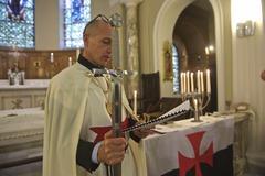 Domizio Cipriani Grand Prieur Magistrale Ordre des Templiers de Jerusalem Principautè de Monaco