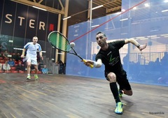 A relatively short squash match will still yield an intensive cardiovascular workout. In just one hour, a player may burn approximately 600-1000 calories.