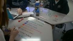 Collaborative Desks In Use At Liberty Christian School