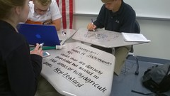 Students at Work At Liberty Christian School