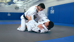 Renzo teaching a sweep technique