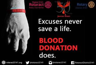ROTARACT and ROTARY provide 'Jeevan Daan in Mumbai and Palghar Districts