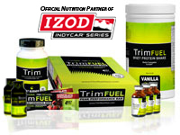 Trim Nutrition Partners with IndyCar to Fight Obesity, Promote Fitness