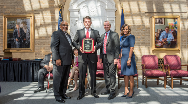 DCA'S Founder and Service-Disabled Veteran Receives Award