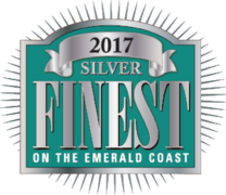 Double Fun Watersports is Silver Winner in 2017 Finest on the Emerald Coast contest.