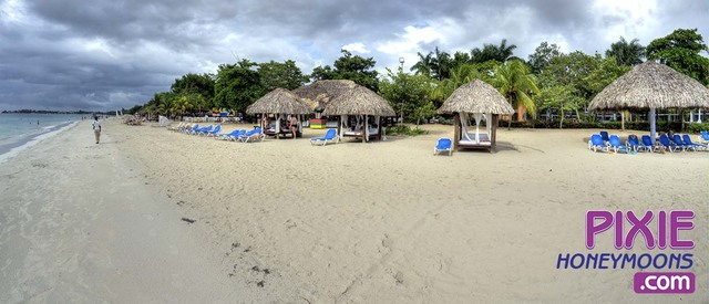 Jamaica all Inclusive resorts, 7 mile beach.  http://PixieHoneymoons.com
