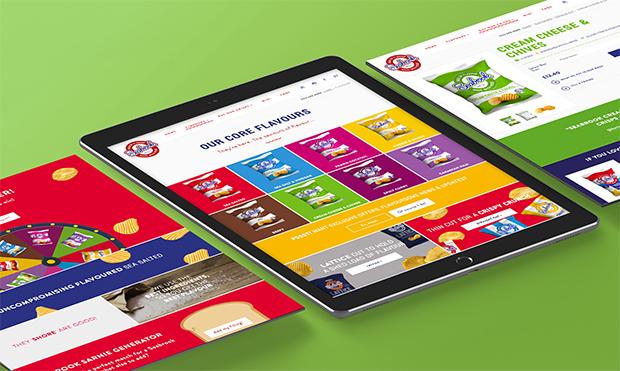 Seabrook Website on an iPad