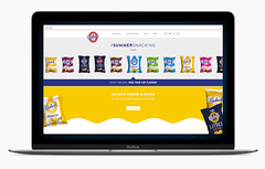 Seabrook Website on a Macbook