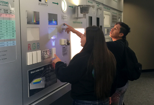Native American students from previous Tour visited SCE's Energy Discovery Center in Irwindale, California.