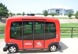 First Transit Brings Autonomous Vehicle Passenger Shuttles to Dallas Sports Fans