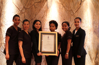 Rayana Spa wins 'Best Luxury Urban Escape' at the World Luxury Spa Awards 2017