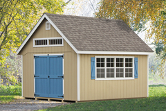One Of The Premier Garden Sheds Built At The Gap Pa Manufacturing Facility  Sheds