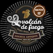 Batch 17 of Volcán de Fuego coffee