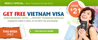 Weekly Promotion Packages for Booking Hotels on Vietnamhotels.net