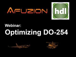 AFuzion and HDL Design House Joint Webinar: Optimizing DO-254: October 4, 2017, 10 a.m. Eastern Time, 4 pm C…
