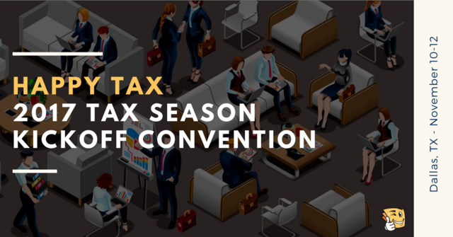 Happy Tax Convention 2017