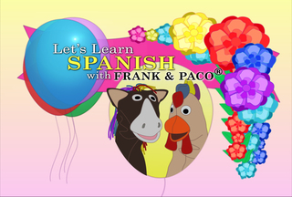 Let's Learn Spanish with Frank & Paco, Vol. 1 Awarded Dr. Toy Top 10 Educational Product for 2008