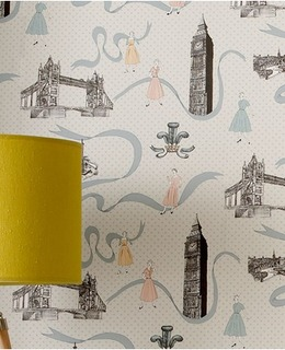 Commemorative 2012 Olympics Designer Wallpaper Collection Brings London's Style to Home Décor