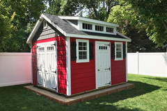 Custom Vinyl Sided Shed