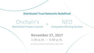 The Countdown Has Begun For Ontology Network Launch in NYC on November 27