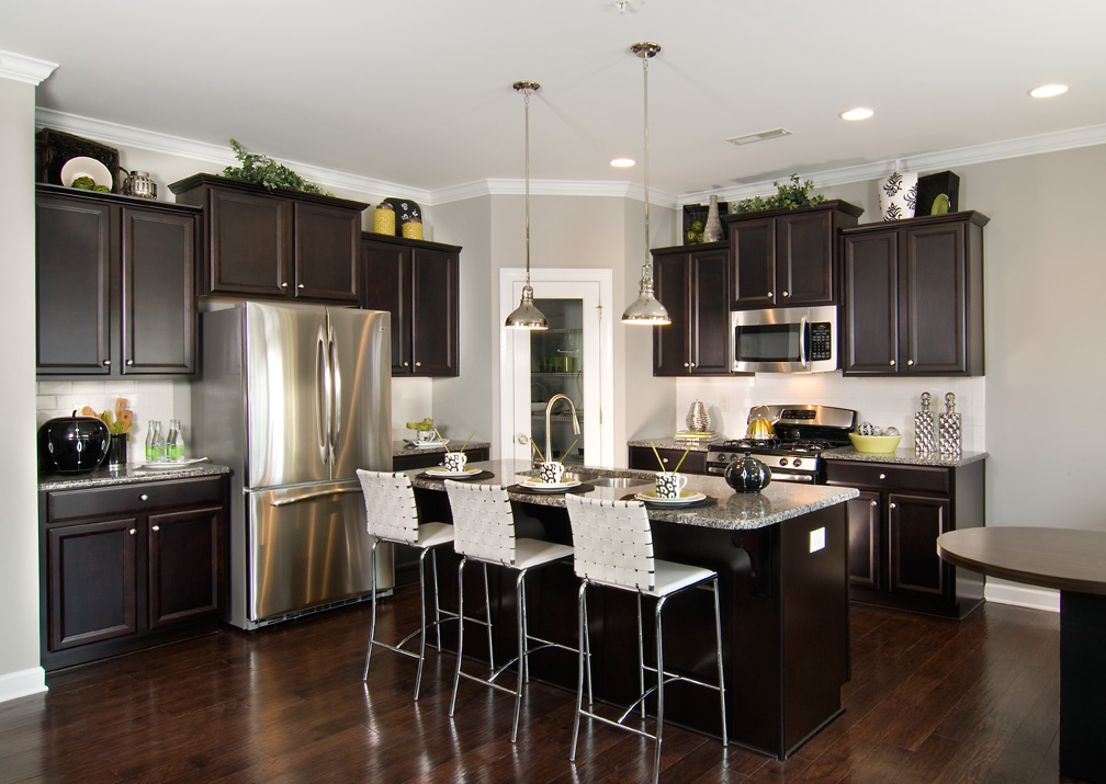 Shea homes opens new models at riviera in ballantyne area for Model home kitchens