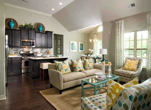 Shea homes opens new models at riviera in ballantyne area for Shea homes design studio