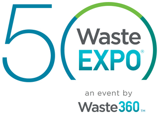 WasteExpo Celebrates 50th Anniversary Event Targeted to the Solid Waste, Recycling and Organics Industry