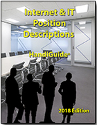 288 Internet and IT Position Description - 2018 Edition