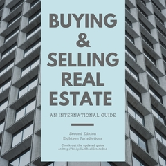 "ILN Announces Second Release of ""Buying & Selling Real Estate: An International Guide"""