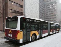 University of Minnesota transit bus