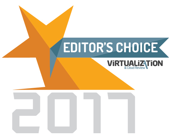 Virtualization and Cloud Review Editor's Choice Award 2017