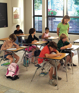School Furniture Ships in Five Days or Freight is Paid by Hertz Furniture