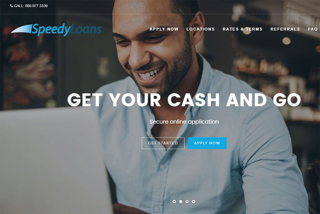 The New SpeedyLoans Website