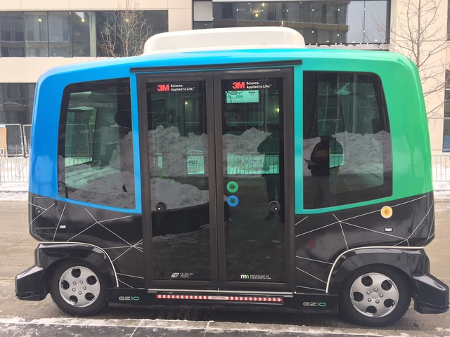 Shared Autonomous Vehicle (SAV) in Minneapolis