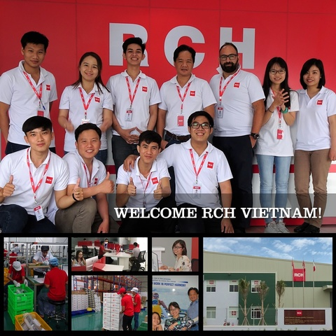 RCH Group Opens Factory in Vietnam