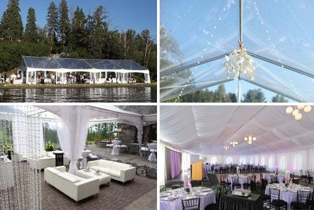 & Special Event Rentals Creates Dream Outdoor Tent Weddings